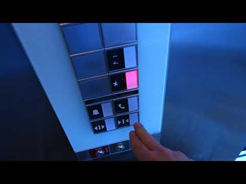 Schindler 3300 MRL Traction Elevator @ Sun Dail, St. Petersburg, FL, USA.