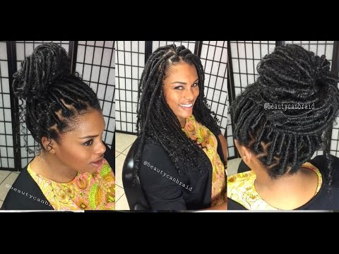 212 Jumbo Goddess Faux Locs Youtube