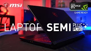 Laptop Yang PAS Untuk Mobilitas, For Gamer & Professional | Review MSI GF63 8RC