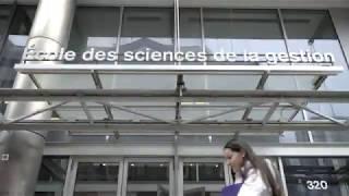 Étudier à l'ESG UQAM