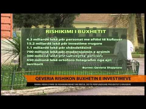 Qeveria rishikon buxhetin e investimeve - Top Channel Albania - News - Lajme