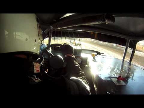 Hobby Stock Heat Race From Santa Maria Speedway 7/27/13 #73 Camaro Huge Crash