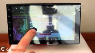 видео Штатная магнитола Redpower 31001 R IPS 10 дюймов для автомобилей Nissan X-Trail(2007-2015) климат