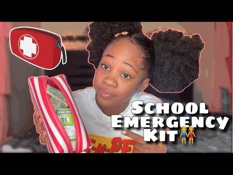 Everything You NEED In Your School EMERGENCY KIT!! | Back To School thumbnail