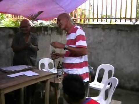 Karaoke session w/Ruben Llosa & Wilbert Barraquias (NOHSCLASSOF70)