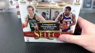 2016-17 Panini Select Basketball 12 Box Case Break #2