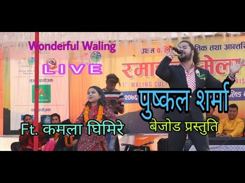 Pushkal Sharma | पुष्कल शर्मा | LIVE | Hit Lok Songs | Ramailo Mela | In Wonderful Waling | Hit English Song |Mp3 Song Download | Full Song