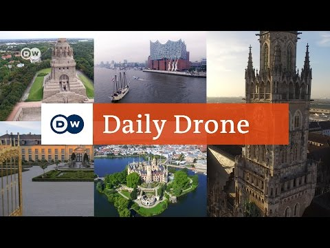 #DailyDrone: Sights in Germany | DW English