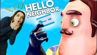 Привет Сосед Отморозили Ключ Карту И Открыли ПотайНую Дверь Прохождение 3 Акта