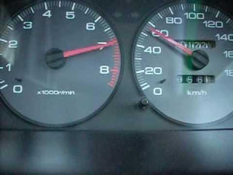 Honda Integra acceleration DC1