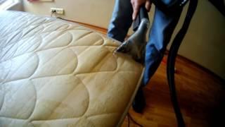 видео Химчистка матрасов в Киеве на дому от пятен и запаха мочи