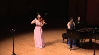Ponce-Heifetz : Estrellita (My Little Star) ,Jeehye Sophia Kang, violin