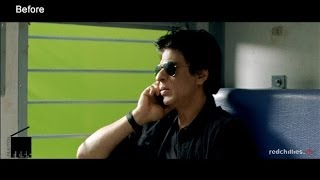 'Chennai Express' VFX Breakdown by  Redchillies vfx