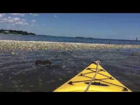 Kayaking the Islands of Greenwich, CT - Long Island Sound