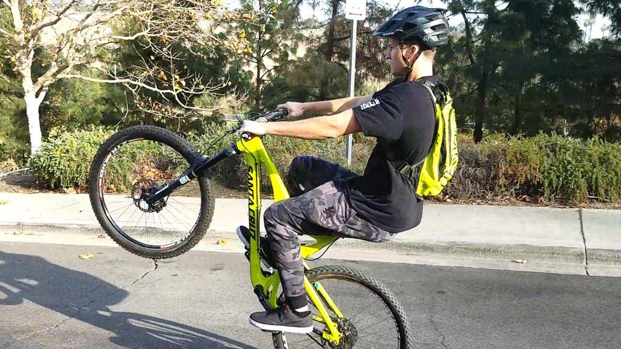 how to manual mountain bike