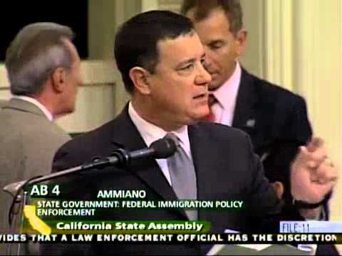 California Assembly Debates, Passes TRUST Act, AB 4 (Ammiano)
