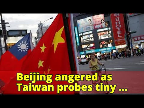 Beijing angered as Taiwan probes tiny pro-China opposition party