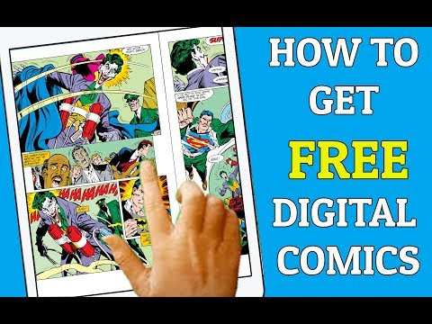 The FREE Digital Comic App You Must Have! Digital Comic Haul!