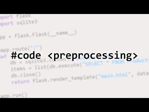 Code Preprocessing