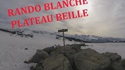 RANDONNEE BLANCHE AU PLATEAU DE BEILLE - LES CABANNES