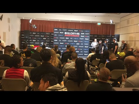 GLORY 45: Amsterdam Weigh Ins