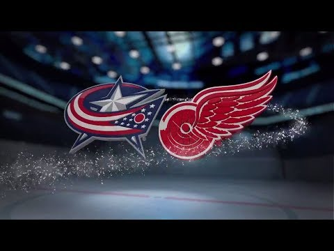 Columbus Blue Jackets vs Detroit Red Wings - November 11, 2017 | Game Highlights | NHL 2017/18.Обзор