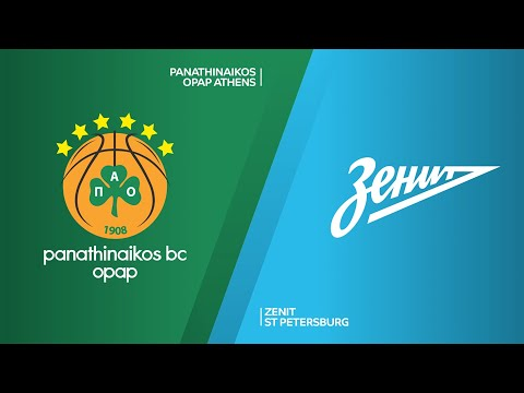 Panathinaiakos OPAP Athens - Zenit St Petersburg Highlights | EuroLeague, RS Round 18