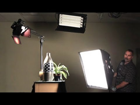 how to change lighting in videos