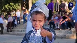 100 ألف فلسطيني يصلون العيد في الأقصى - (21-8-2018)