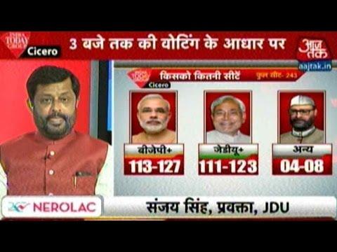 Bihar Exit Polls: NDA Leads Grand Alliance By Thin Margin Post Historic Turnout
