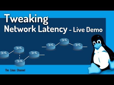 329 Tweaking Network Latency - Live Demo - via TOFFEE-DataCenter