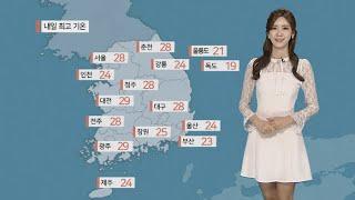 [날씨] 갈수록 더워…자외선ㆍ오존ㆍ먼지 주의 / 연합뉴…