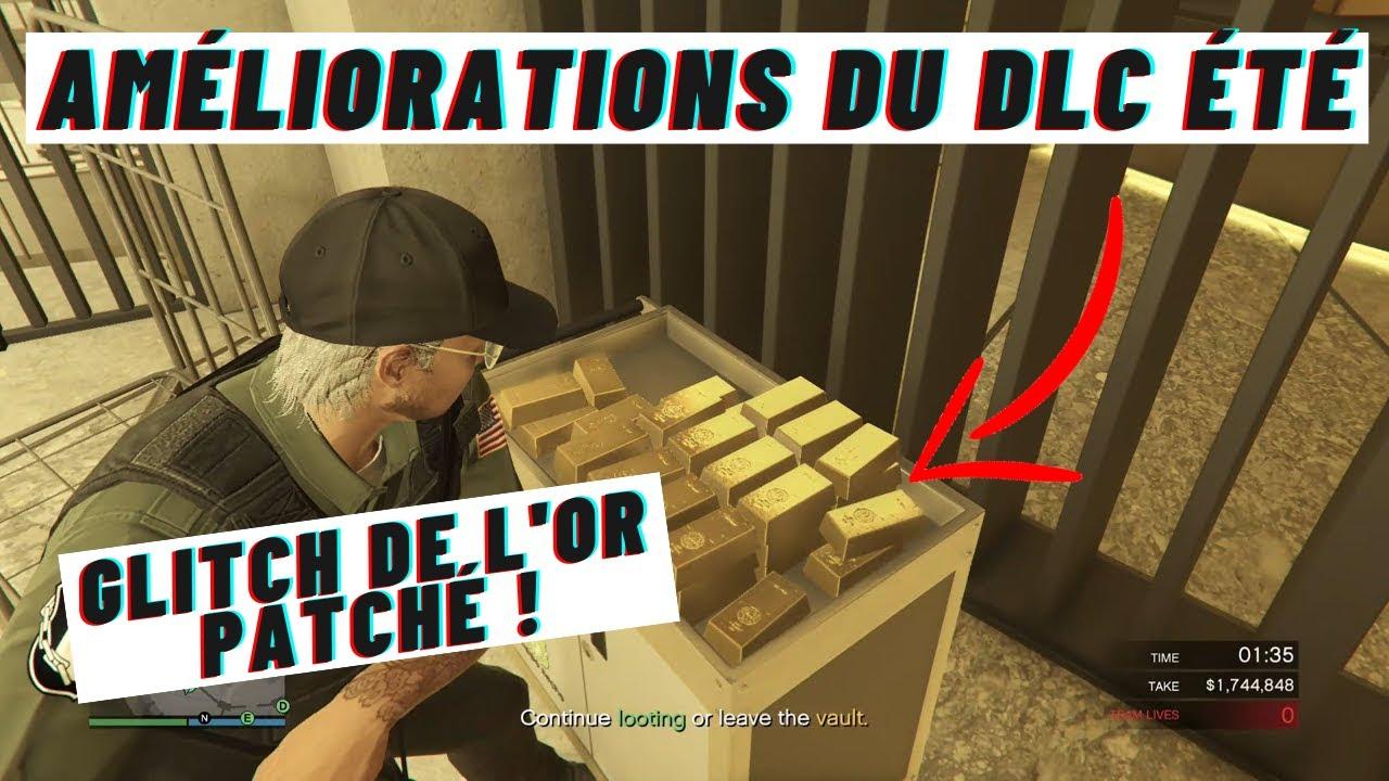 ✅ Toutes les AMÉLIORATIONS de gameplay du DLC été | GLITCH de l'or patché & MK2 légèrement NERF!