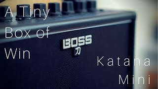 A Tiny Box of WIN | BOSS Katana Mini
