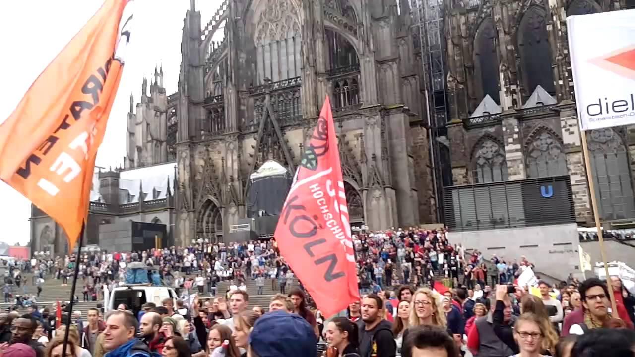 Köln Demo Gegen Rechts