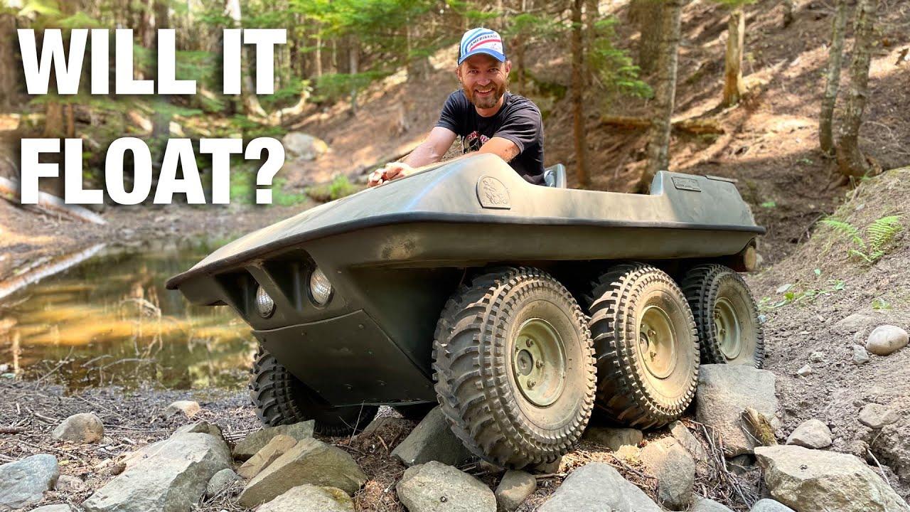 We Bought a 6x6 Amphibious ATV on Craigslist!