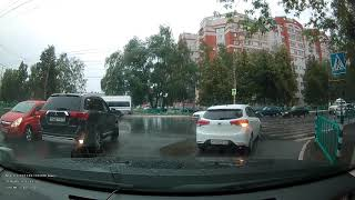 SHO-ME Combo Super Smart - дневное видео, дождь