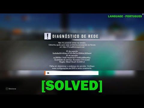 FORZA HORIZON 3 DIAGNOSTICO DE REDE   ERRO DNS ONLINE TEREDO