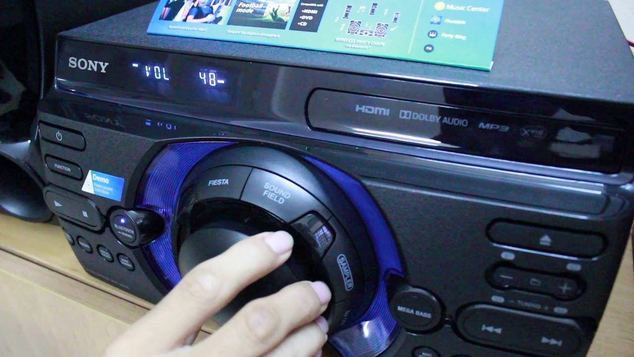 Loa Nhật có khác đánh nhạc quá hay SONY MHA MHC-M40D