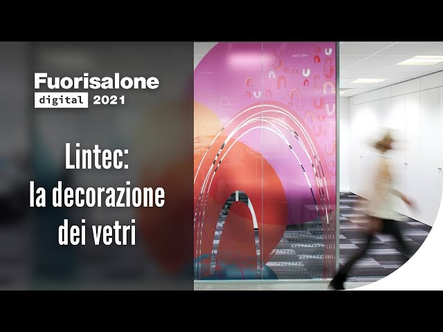 Lintec: la decorazione dei vetri