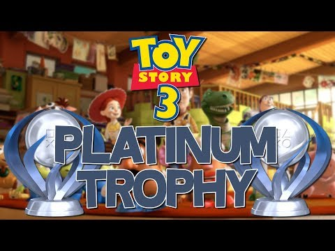 Toy Story 3 Platinum Trophy (Toy Collector)
