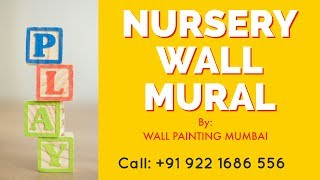 Kindergarten & Daycare Center Wall Decoration | Wall Painting