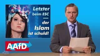 Johannes Schlüter macht ein Praktikum als Rechtspopulist