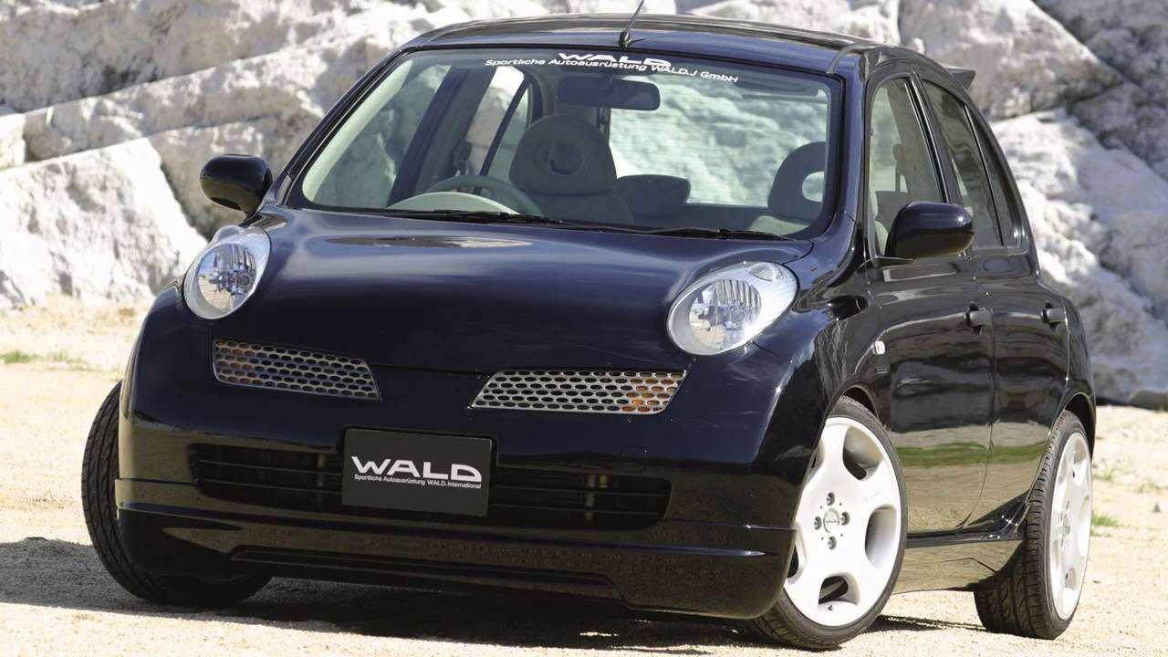 Wald nissan march 2003 youtube vanachro Image collections