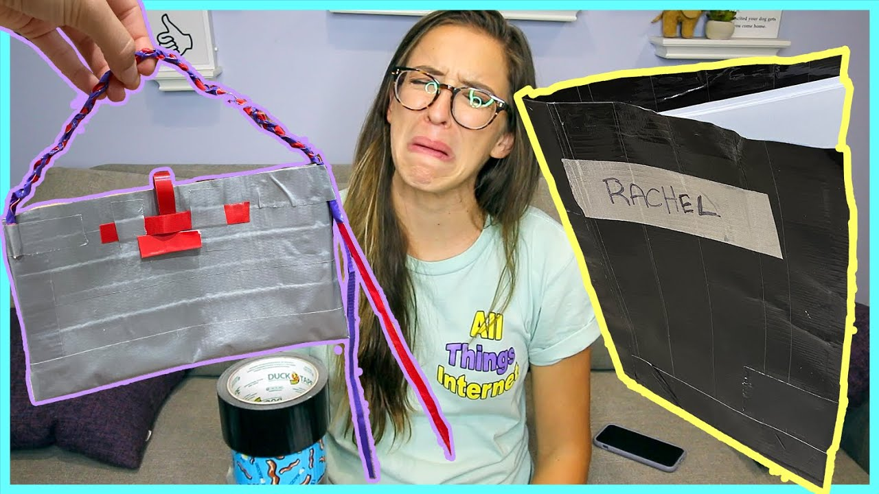 Making Duct Tape School Supplies!