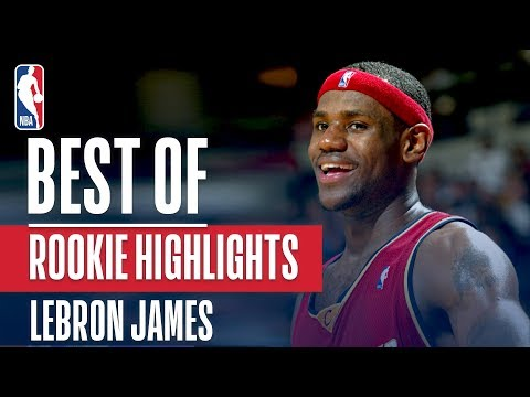 LeBron James BEST NBA Rookie Highlights | 2003-2004 NBA Season