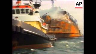Ferry Hits Oil Tanker Off Port Of Livorno