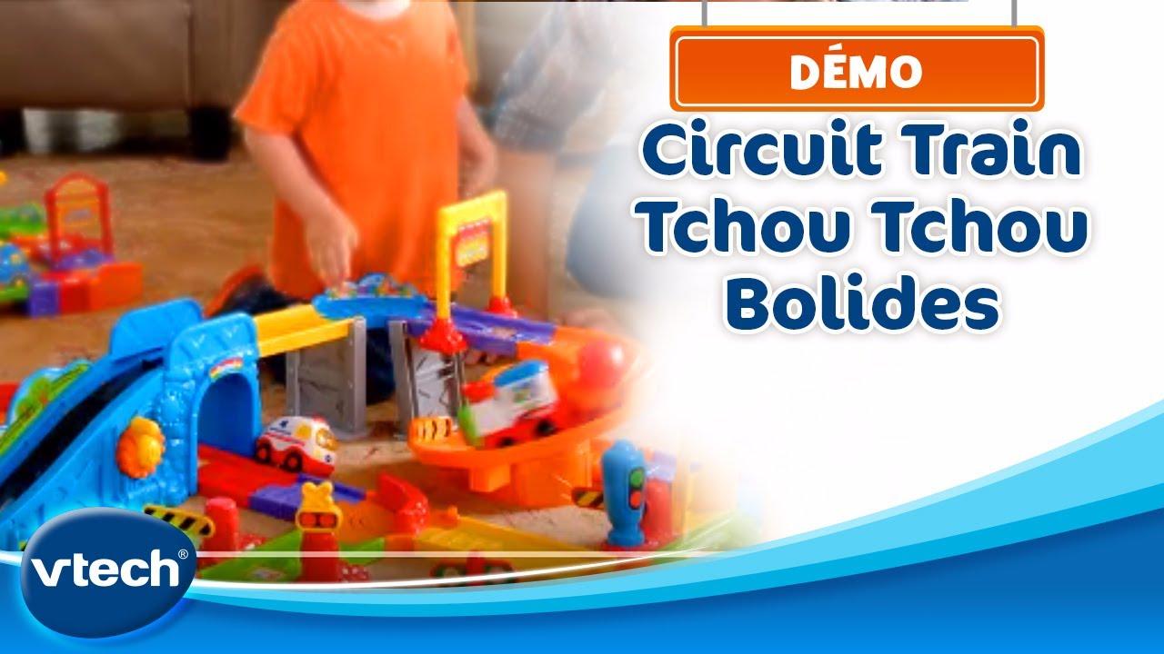 Vtech tchou tchou bolides mon circuit train interactif - Tchou tchou le train ...