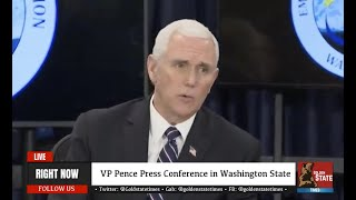 HOTBED EPICENTER: VP Mike Pence URGENT Press Conference from Washington