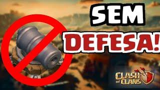 INICIANDO UMA VILA (NO DEFENSE) - Clash Of Clans!